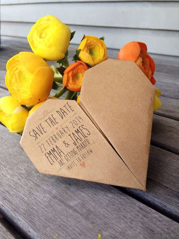 Hey, I found this really awesome Etsy listing at https://www.etsy.com/listing/173008957/custom-origami-heart-wedding-save-the