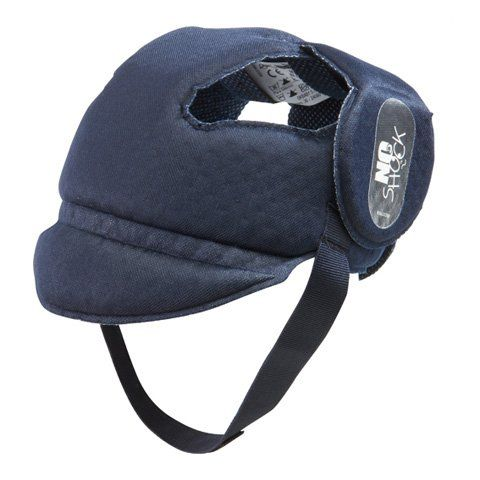 Sombrerito de protección Okbaby No-Shock blu