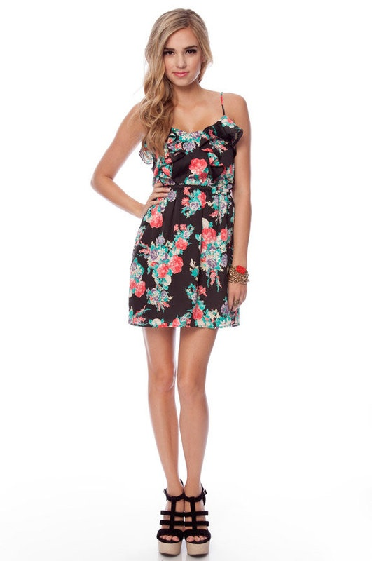 rosie ruffle tank dressSummer Dresses, Style, Floral Tanks, Tanks Dresses, Rosie Tanks, The Dresses, Ruffles Tanks, Dresses Toby, Products