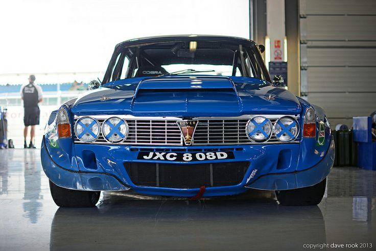 1970 Rover P6B V8 Traco Touring Car - 2013 Silverstone Classic