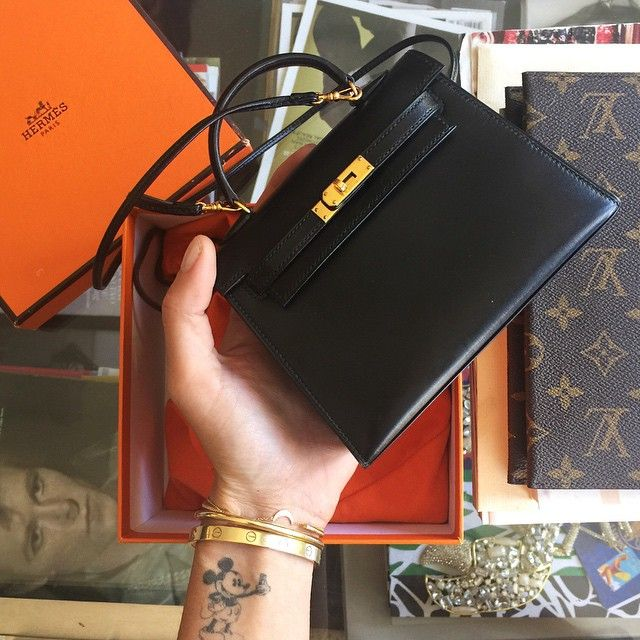 New cutest bag ever  a rare Hermes Kelly 15 found through  fashionphile   TheBlondeSaladNeverStops  596e99c609a6
