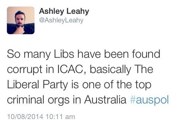 Her Gourdliness On Liberal Party Tony Abbott Abs