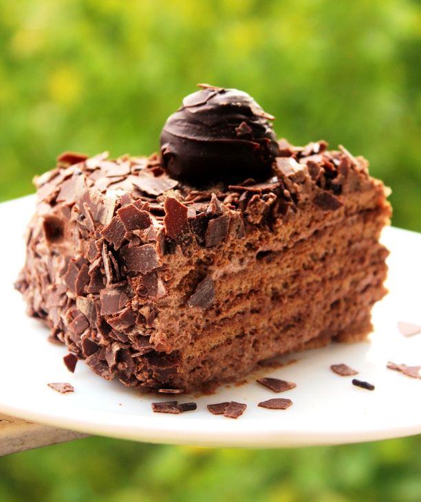 Торт Миндальный трюфель рецепт с фотографиями