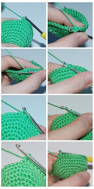 Invisible Increases and Decreases Crochet - Tutorial