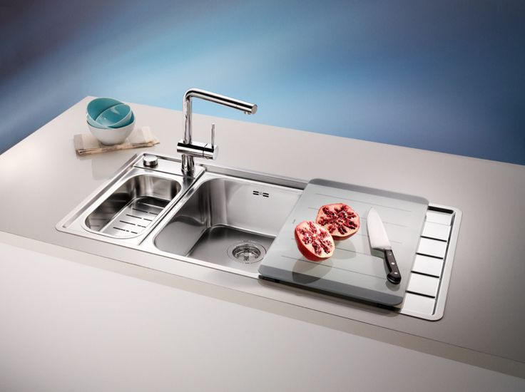 The Axis Sink By Blanco Is Designed To Create The Perfect