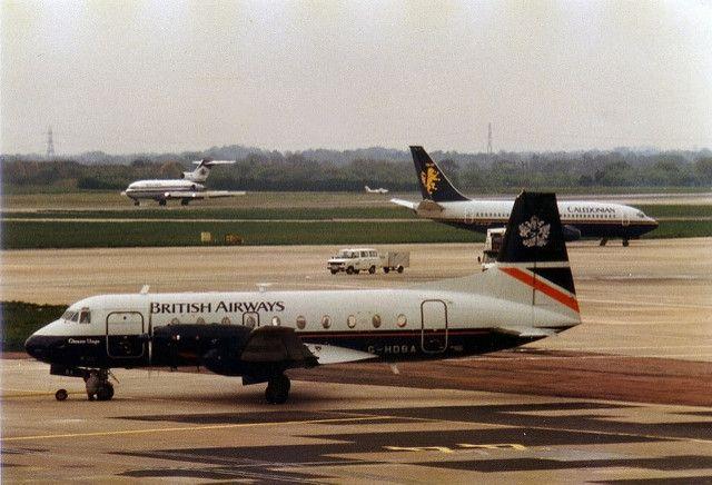 G-HOBA British Airways Hs-748 | Here's a great Manchester sc… | Flickr