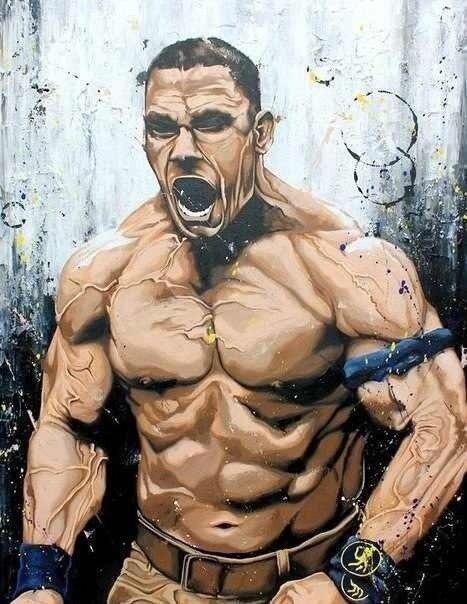 John Cena by @UkraineWWE