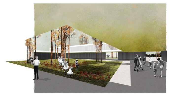 Deutsche Schule Madrid VISUALIZATION: studio agraph