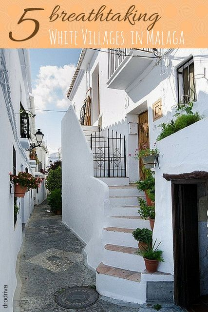 We love the capital city of Malaga, however, we don't think your visit to our province would be complete without a side trip to one of the beautiful white villages in Malaga. Tucked up in the hills around the province, they are bursting with charm, flowers, and true Andalusian flavor! Our top five white towns in Malaga. http://devourmalagafoodtours.com/5-absolutely-breathtaking-white-villages-in-malaga/
