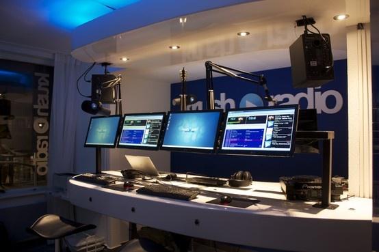 Krush Radio studio Katwijk