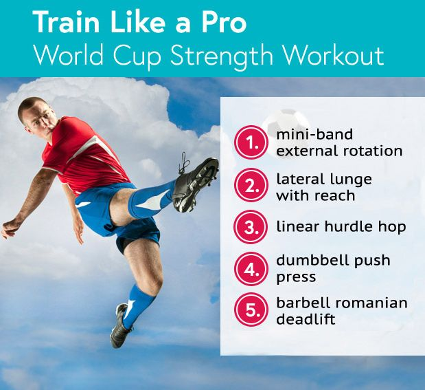 #WorldCup Strength Workout