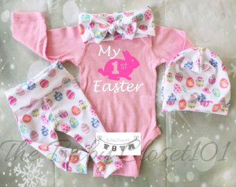 Baby Girl Easter Outfit,Easter Outfit,Girls Easter Leggings,Newborn Easter Outfit,Baby Easter Outfit,Newborn Girl Coming Home Outfit
