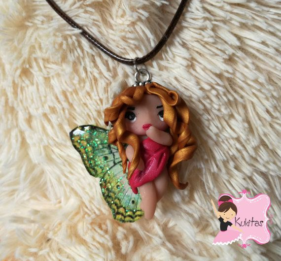 50% discount descuento hada ooak doll jewelry  polymer