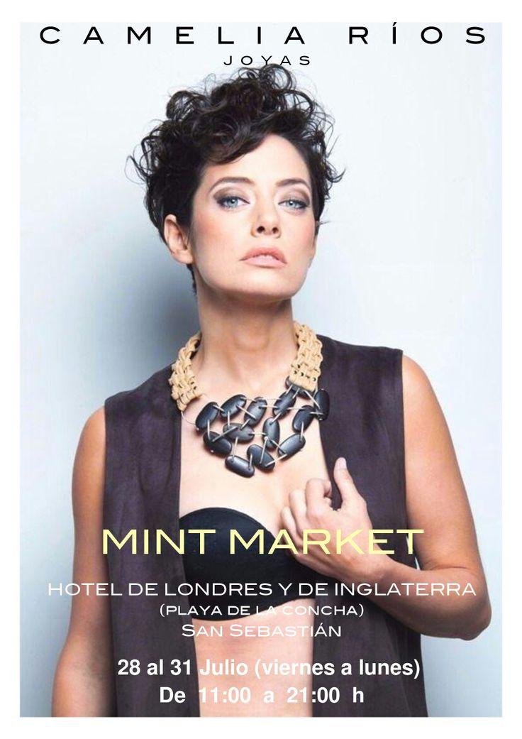 Ahora de verano en Hotel Londres de San Sebastián, en MINT MARKET, de 11 A 21 h, te espero...