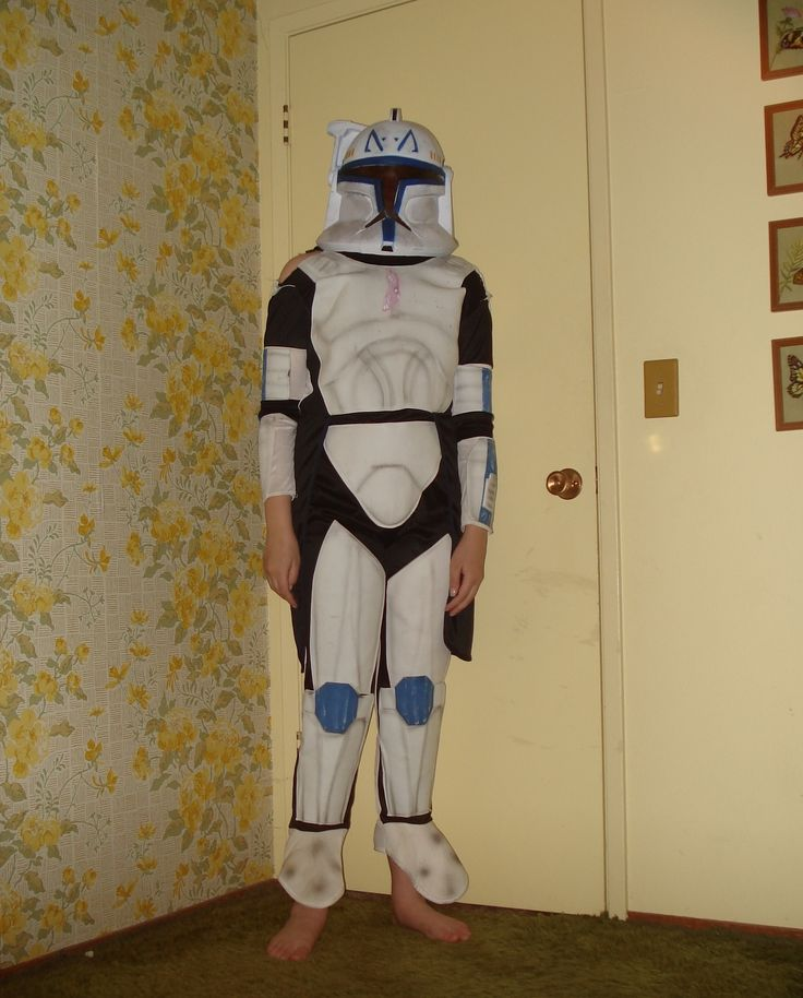 kids clone trooper costume I always liked Halloween.