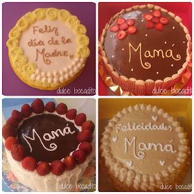 Dulce bocadito: Feliz día de la madre Mom Day, Appetisers, Cupcakes, Cake Decorating, Chocolate, Desserts, Decorated Cakes, Muffins, Food