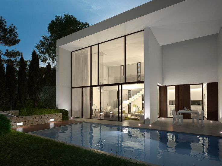 Best Architecture Images On Pinterest Architecture Modern - Contemporary purity and simplicity pool villa by jm architecture italy