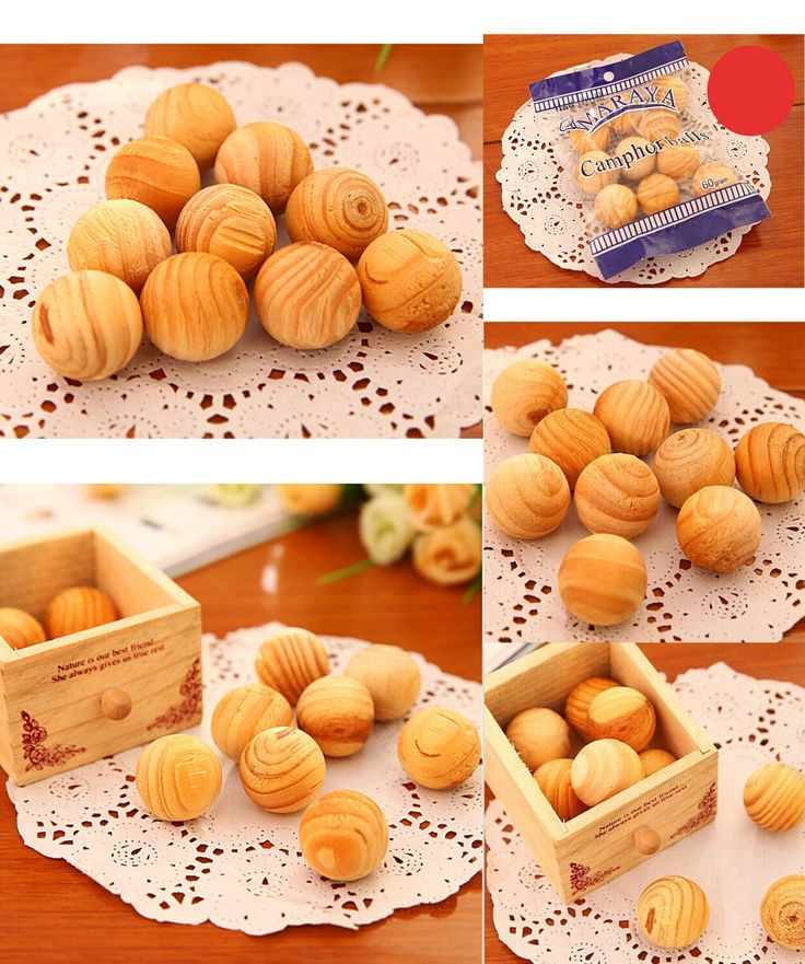 [Visit to Buy] 10pcs/lot pure natural sandalwood fragrant mothballs,wood fresh air ball,flavor for wardrobe closet & Car, wooden home fragrance #Advertisement