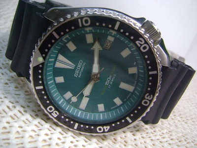 Vintage seiko 7002-7000 150m diver's men's automatic watch ...