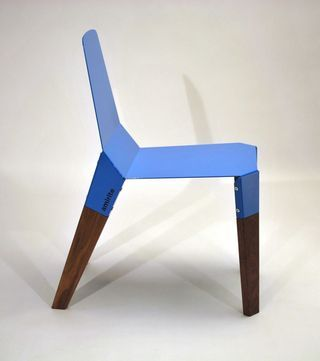 The Cnnct chair by Jacob Nitz.  #colorevolution
