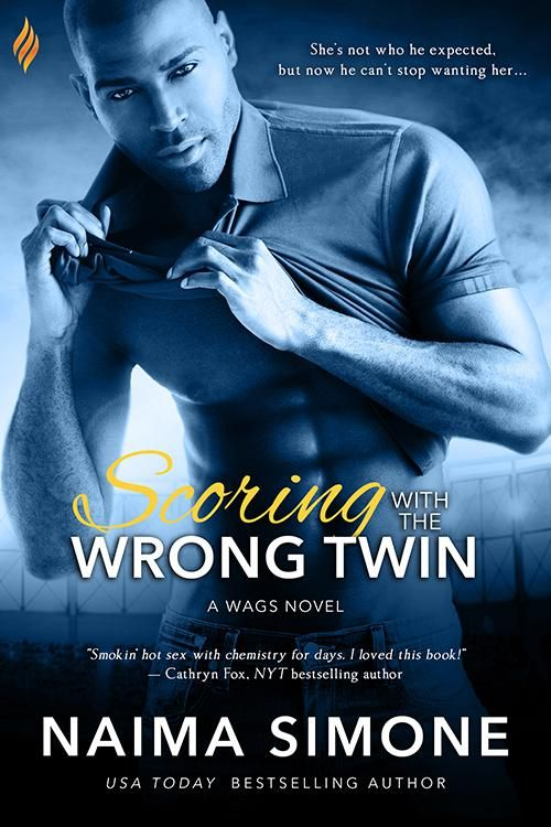 ⏰ #LastDay ⏰ Telling him the truth will mean losing him for good. Scoring with the Wrong Twin by Naima Simone 💙 #Win this #SignedBook #Giveaway 💙 #NewRelease An Author's Pal event Published by Entangled Publishing #ContemporaryRomance https://goo.gl/r68hmT