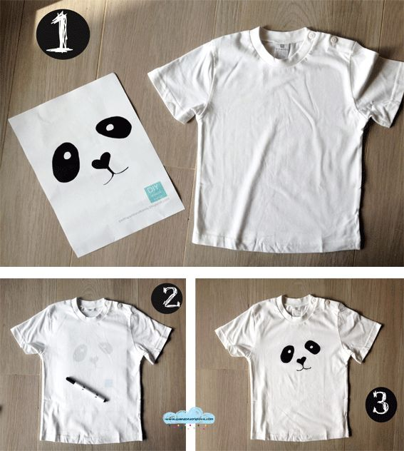 Quandofuoripiove: le bestiali t-shirt fai-da-te di Puki