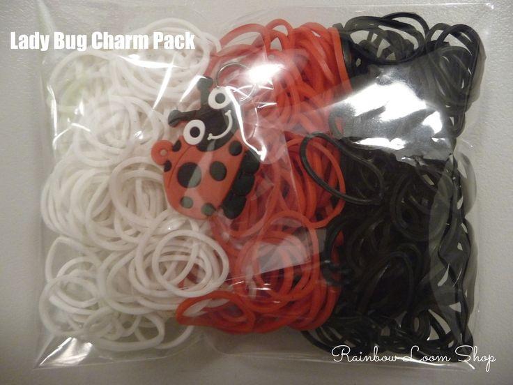 Rainbow Loom Shop - Lady Bug Charms