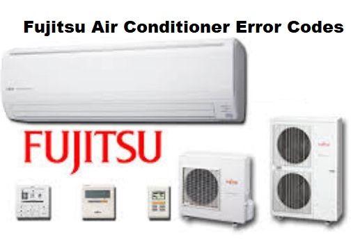 fujitsu ac error codes and troubleshooting  acerrorcode