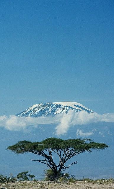 Mt. Kilimanjaro, Tanzania.