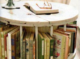 Une grosse bobine-bibliothéque - par Fati