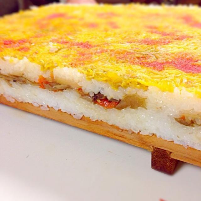 ケーキみたいなお寿司です。 - 83件のもぐもぐ - 長崎の郷土料理 大村寿司 by nkfukazawa