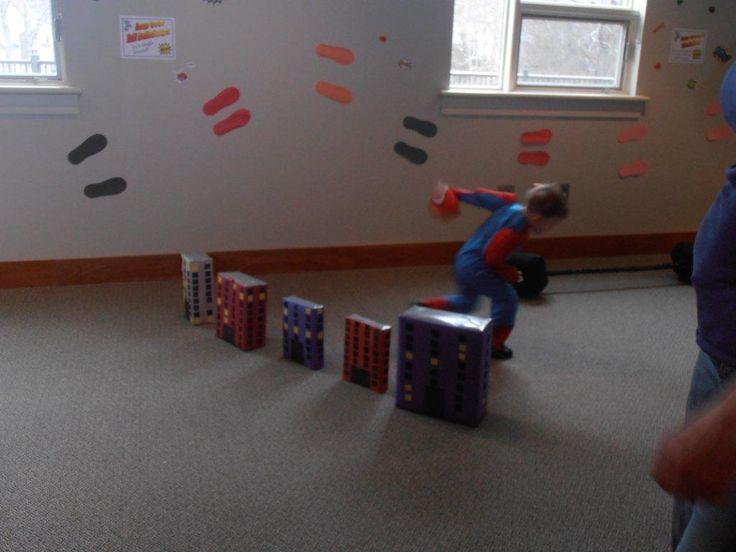 JMS Library Children's Department: Superhero Training Camp