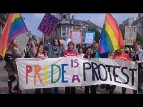 Queer liberation, not rainbow capitalism - Reflections on Dublin Pride 2016 - YouTube