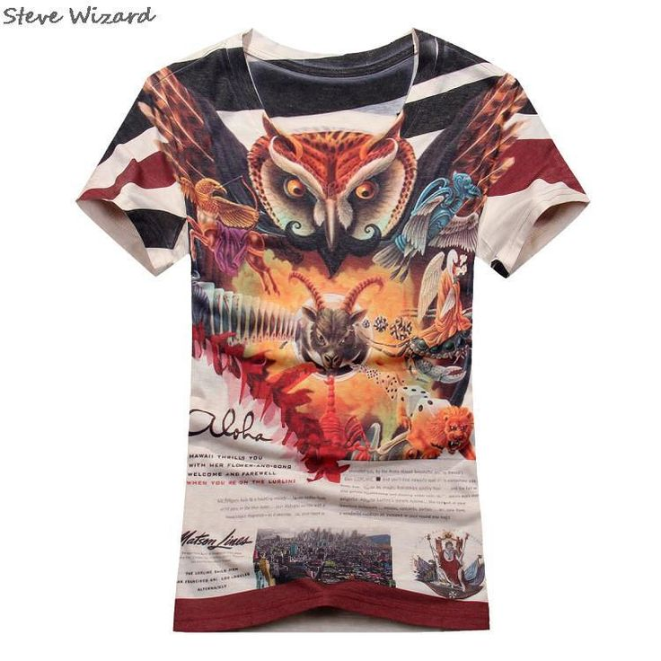 Find More T-Shirts Information about 3XL Top Quality Mercerized Cotton Printed Luxury T Shirt Mens T Shirts Fashion 2015 3D T Shirt Short Sleeve Tees Men's Clothing,High Quality clothing fitness,China shirts japan Suppliers, Cheap shirt storage from SteveWizards Co., Ltd on Aliexpress.com