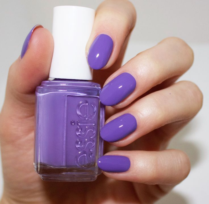 Essie spring 2016 collection - shades on - purple nail polish
