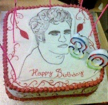 .: Edward Cullen Cake