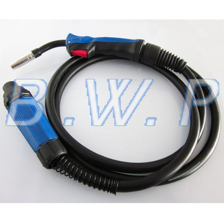 MIG MAG CO2 Gas Mixta Estilo Binzel 15AK Soplete 5 M Cable Boquillas Con Euro Conector Central(China (Mainland))