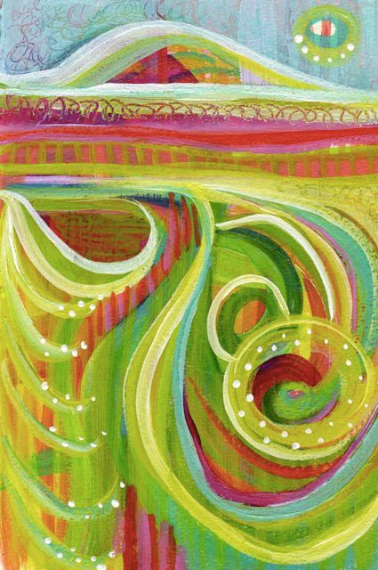 Contemporary Original Abstract Modern Painting A COMPASSIONATE EYE