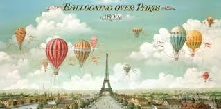 Afbeeldingsresultaat voor ballooning over paris