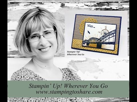 Stampin' Up! Wherever You Go OnStage Card Swap