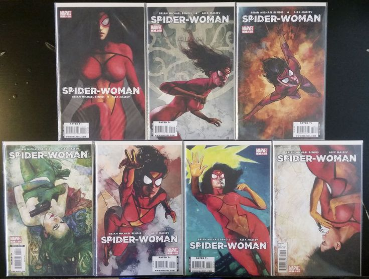 Spider-Woman #1-7 complete set (2009, Marvel) NM Avengers Brian Michael Bendis