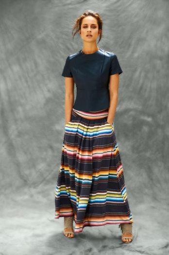 Binny maxi skirt as worn by Nina Proudman on Offspring (season 4)