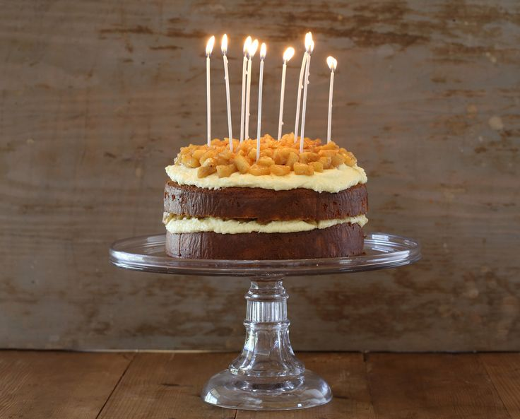 Verjuice Cake with Caramelised Apple and Verjuice Butter Icing - Maggie Beer