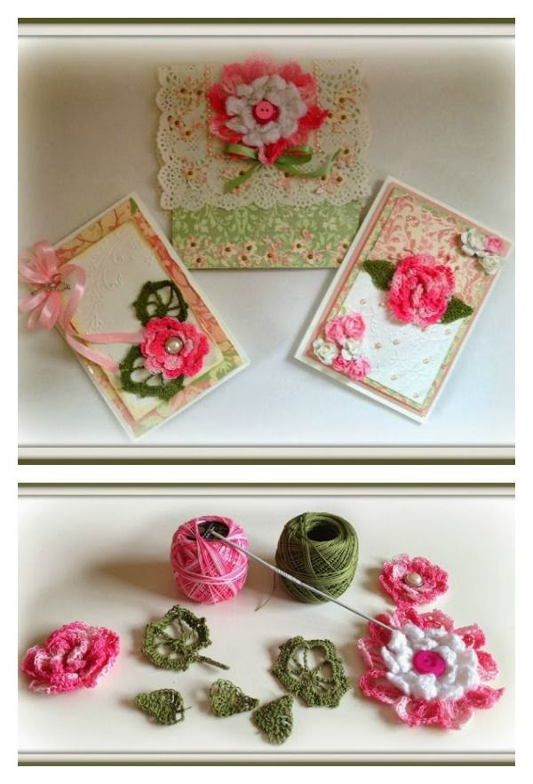 153 besten Häkelblumen Bilder auf Pinterest | Blumen häkeln ...