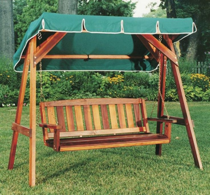 Exterior Wonderful Brown Rattan Porch Swing With