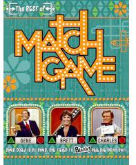 Match Game - I soooo loved this show although I'm sure I didn't understand half of the jokes.