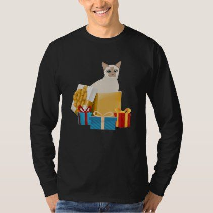 Christmas Gifts For Tonkinese Cat Lover T-Shirt - birthday gifts party celebration custom gift ideas diy