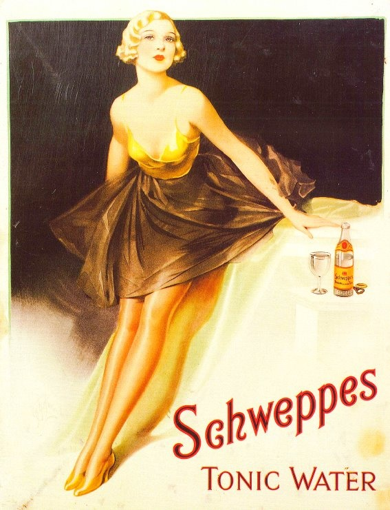 Schweppes in the 20s.