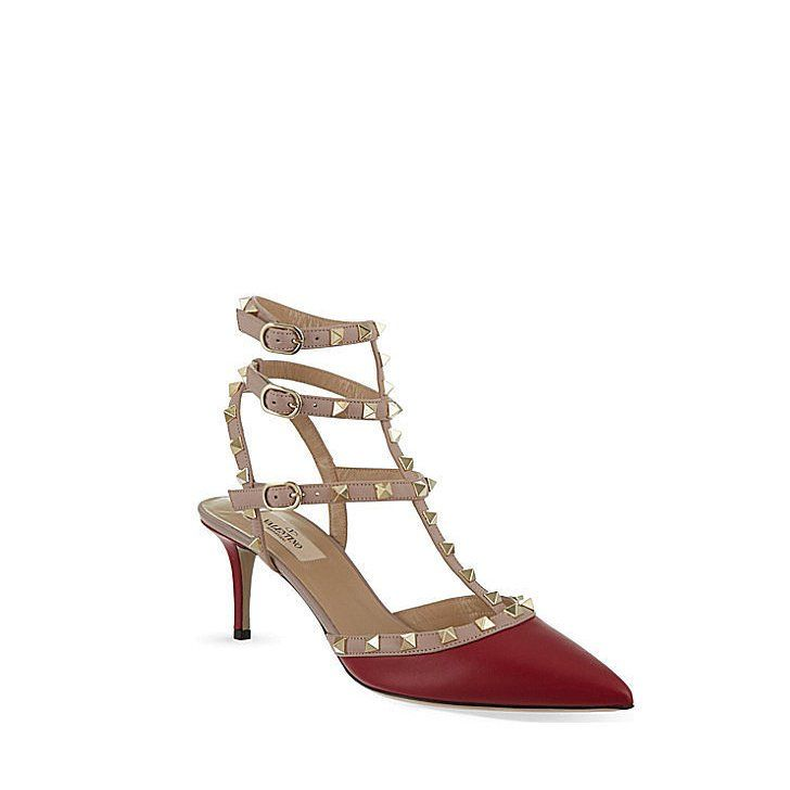 Pin for Later: A Gift Guide For Shoe Addicts Valentino Rockstud Heel These aer popular among celebrities, and your shoe cabinet is definitely not complete without a pair of Valentino Rockstud heels (£610).