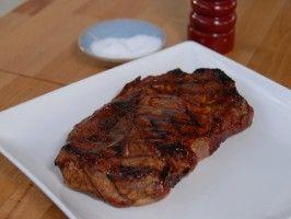 Grilled Pork Shoulder Steak from CookingChannelTV.com